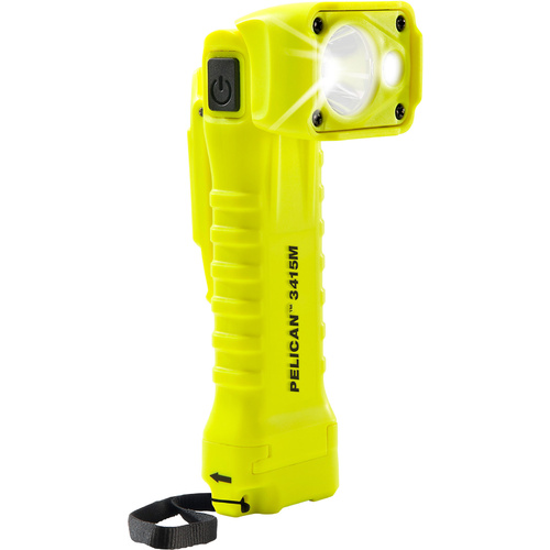 3415 Pelican Right-Angled Safety Torch - Magnetic Clip